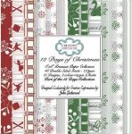 12 Days of Christmas Premium Paper Collection 8x8